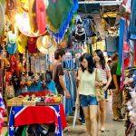 Thimphu market - changangkha lhakhang thimphu