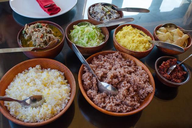 bhutan food - bhutan culture