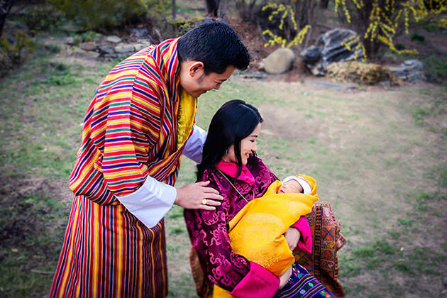 bhutanese baby - bhutan tradition and culture