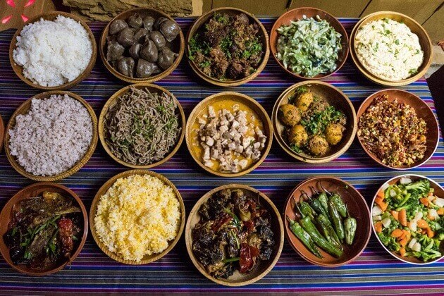 food in paro -attractions in paro