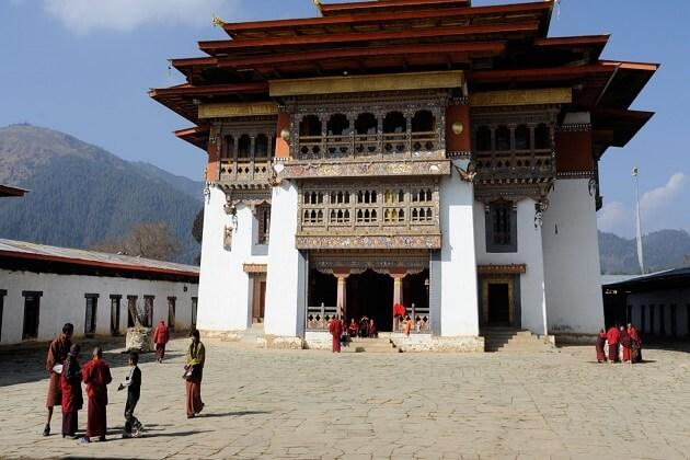 Gangtey Goenpa - bhutan thangbi mani festival