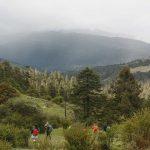 Kitiphu ridge - bumthang owl trek map