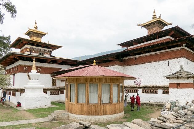 Kyichu lhakhang - end of Bumthang Owl trek