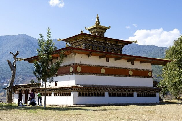 The Golden Roof - chimi lhakhang fertility