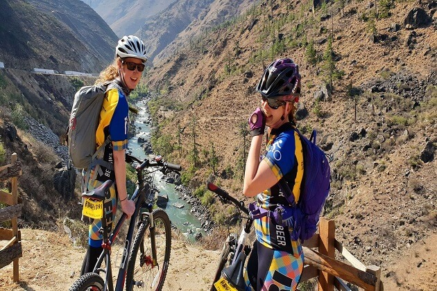 bhutan biking - travel guide to bhutan