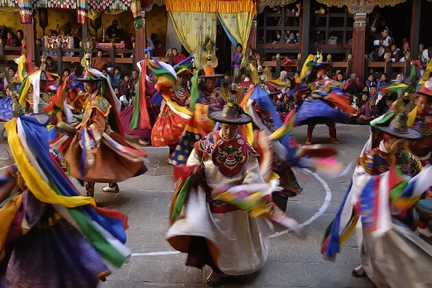 bhutan festival - travel guide in bhutan