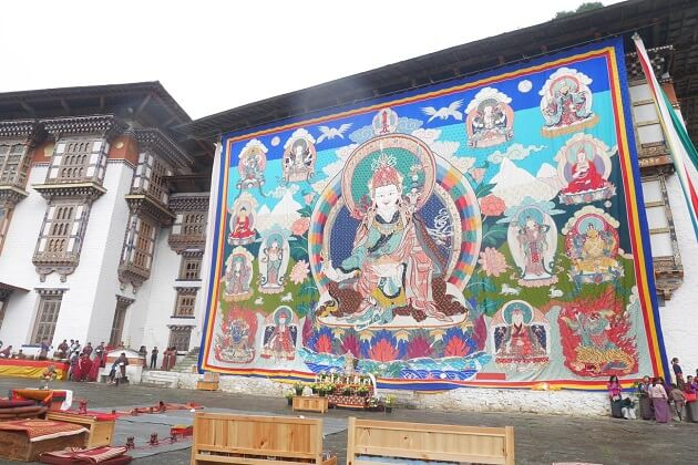 kurjey festival - kurjey lhakhang in bumthang