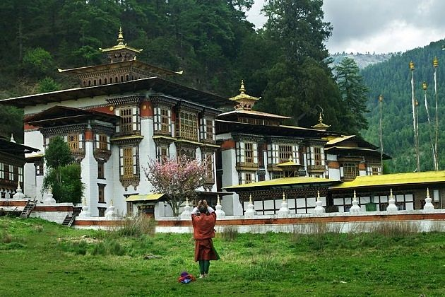 kurjey lhakhang bhutan