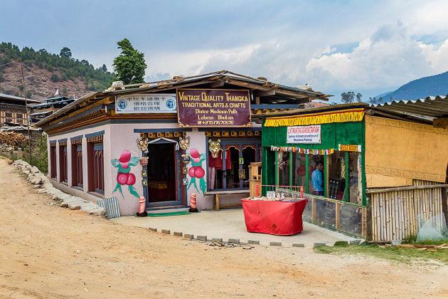 lobena village - chimi lhakhang history