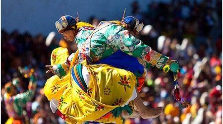thangbi mani festival - festival tours in bhutan