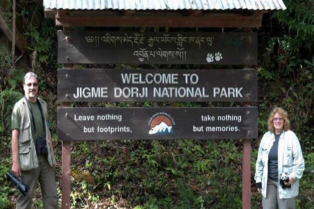 Jigme Dorji National Park - best destination for bhutan family tours