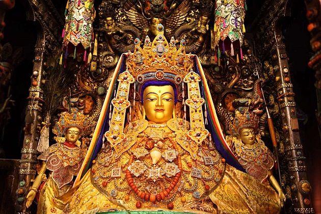 Jowo Jamba - kyichu lhakhang bhutan