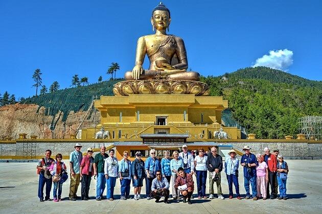 Kuensel Phodrang - destinations for bhutan family travel