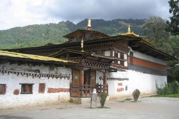 Tamshing lhakhang - best textile tour in bhutan