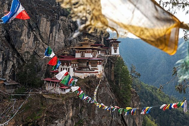 tiger nest - best place for bhutan family tours