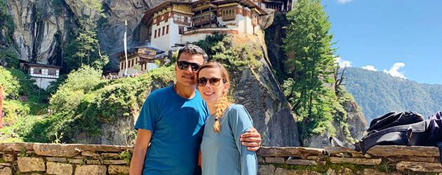 Andrea choose Bhutan tour packages