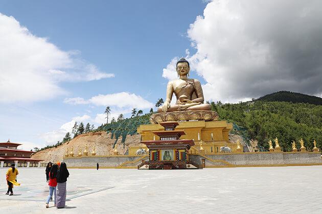 Kuenselphodrang - bhutan 1 week itinerary