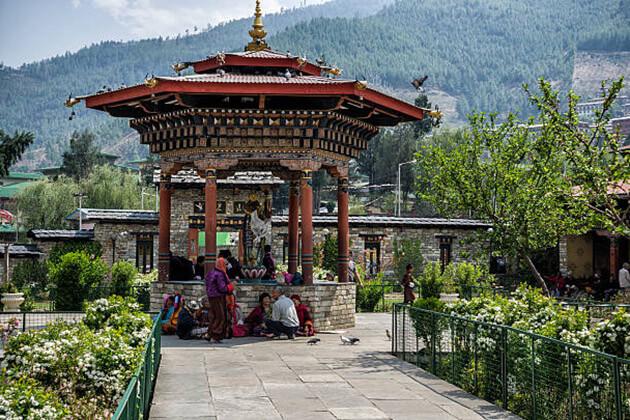 memorial chorten - bhutan itinerary