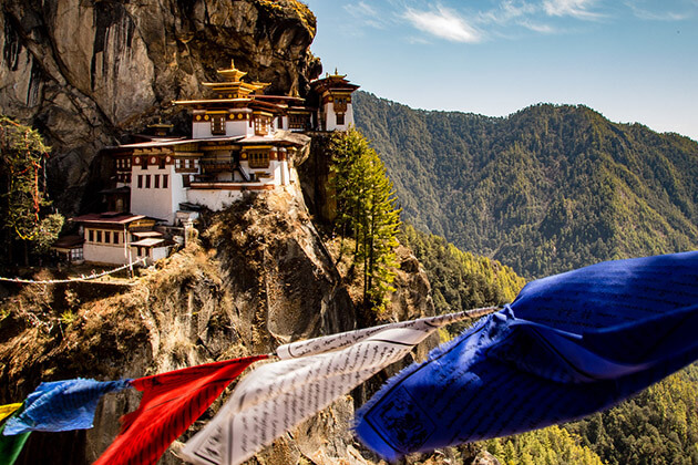 tiger nest - best bhutan tour itinerary