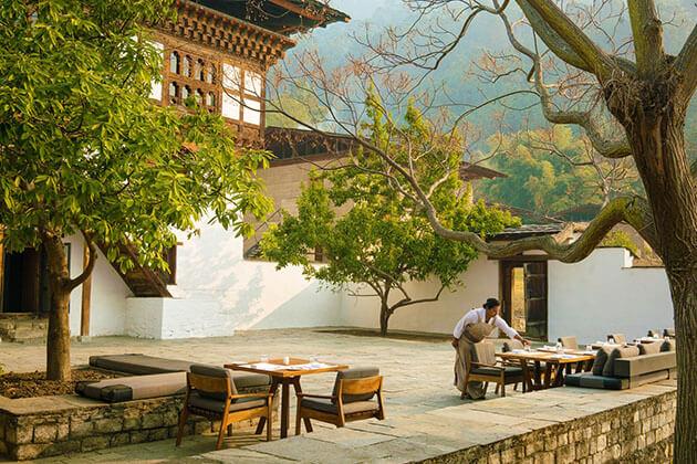 Amankora bhutan resort