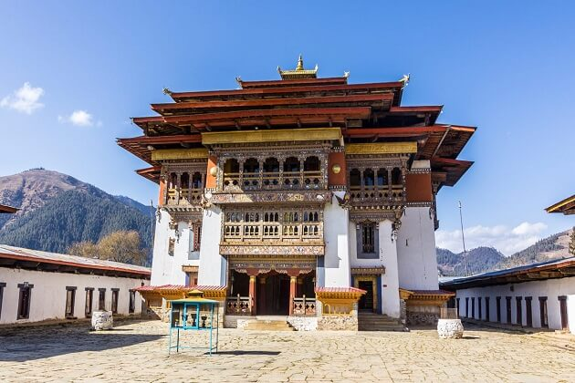 Gangtey Gompa - best bhutan 2 weeks