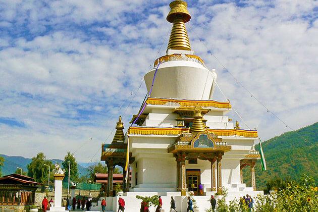 National Memorial Chorten - bhutan 2 weeks