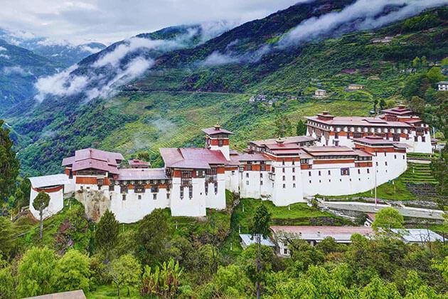 Trongsa Dzong - bhutan 2 week itinerary