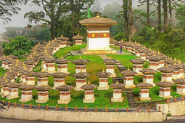 Dochula Pass – a Place in Honor of 108 Bhutanese Soldiers