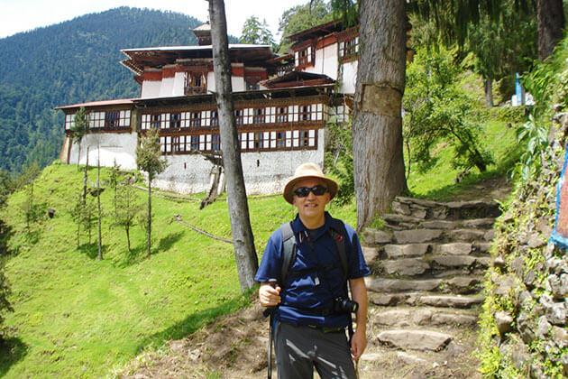 hike to Cheri Monastery - bhutan 2 week itinerary