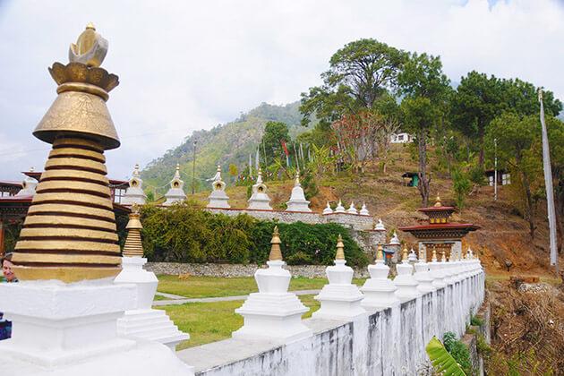 history of architecture of Khamsum Yulley Namgyal Chorten