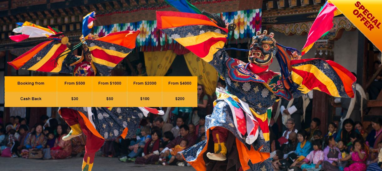 Special offer bhutan vacation packages