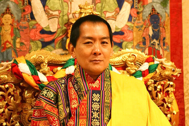 the forth king of bhutan - Jigme Singye Wangchuck